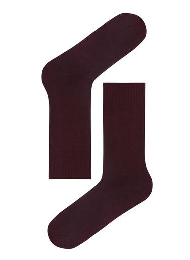 Katia & Bony Melissa Modal Erkek Soket Çorap  Bordo